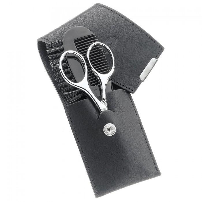 bart etui bart etui bartpflege bart schneiden juchtenleder schwarz 2 tlg. Black Bedroom Furniture Sets. Home Design Ideas